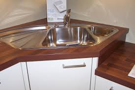 kitchen sinks dark brown pentagon unique aluminum small kitchen sink ideas laminated design for small