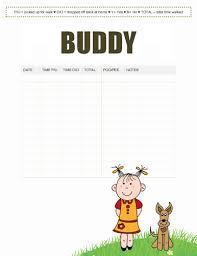 Free dog-walking log template samples in Word and PDF Dog-walking log sample 3