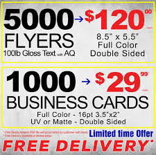 Business Cards Flyers Postcards Brochures Print Free