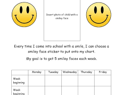 Smiley Face Chart