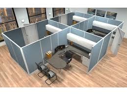 modular workstation furniture system. 8x12 modular workstations from ais 6 pack cluster workstation furniture system h