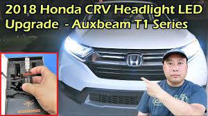 2018 Honda Crv Fog Light Bulb Replacement 2018 Honda Crv Led Headlight Install Auxbeam F T1 H11 Bulb