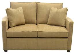 light brown twin size sleeper sofa chairs with 2 pillow