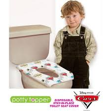 potty topper disposable toilet seat cover disney cars