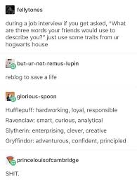 Modern Resume Tumblr Swap The Analytical With Creative Slytherins Are More