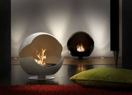 bioethanol fireplaces self supporting central open hearth