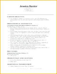 Resume Career Objective Statement Awesome Nurse Manager Resume Objective Examples Nursing Dialysis Unique