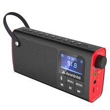 Avantree 3 In 1 Portable Fm Radio Mini Bluetooth Lautsprecher