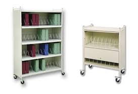 Chart Racks For Medical Records Mobile Chart Racks Carts Rhino Tuff Chart Pro Systems