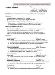 film resume samples lesson plans on writing a letter film industry resume examples