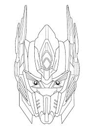 Transformer Color Pages Transformers Colouring Pages Online