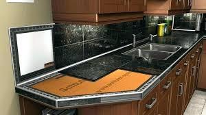 how to install granite tile kitchen tile countertops cost to install tile kitchen countertops