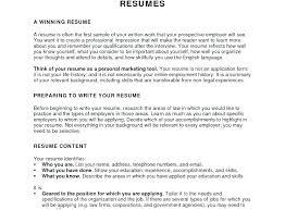 College Student Resume For Internship Resume For Internships Samples