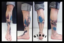 Hydroxide Chemistry Trash Polka Tattoo By Live Two Best Tattoo