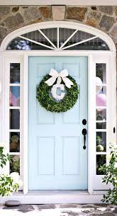front door paint ideasFront Doors  Grey Green Front Door Paint Front Porch Ideas And