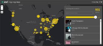 maps mania the geography of hip hop the geography of hip hop is an interactive map documenting the history and geography of hip hop the map and accompanying essay explore how hip hop has