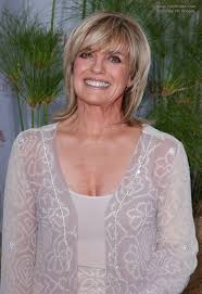 long hairstyles for 60 plus linda gray short razor cut hairstyle with a side