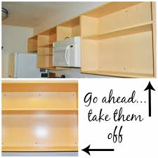 Plastic Kitchen Cabinets Kitchen Improvement Removing Cabinet Doors