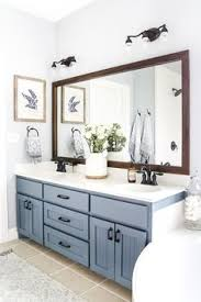 a plain builder grade bathroom is transformed in just 48 hours check out the