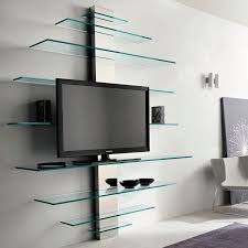 Small Picture Contemporary TV wall unit glass metal MONDOVISIONE by