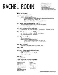 Cover Letter Seamstress Resume Seamstress Resume Examples Free