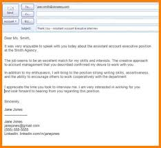10 Email Thank You Letter After Interview Precis Format