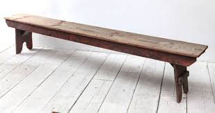 rustic wood bench. Contemporary Bench Long Rustic Bench With Hints Of Red Paint Patina To Rustic Wood Bench