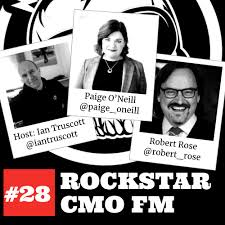 Rockstar CMO FM #28 The Sample, Paige O'Neill, Robert Rose, and a Cocktail  Episode - Rockstar CMO