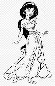 Principessa Jasmine Libro Da Colorare Disegno Principessa Disney The