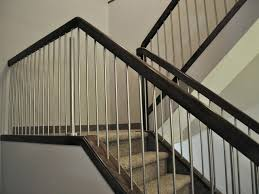 ... Modern Stair Banisters Modern Stair Railing Kits Ideas Railing Stairs  And Kitchen Design Simple Modern Stair ...