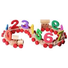 «Развивающая <b>игрушка PAREMO</b> Деревянный паровозик с ...