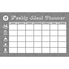 80 Off Sale Magnetic Dry Erase Board Weekly Meal Planner 11x17