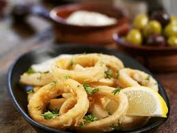 Fried Squid Rings recipe