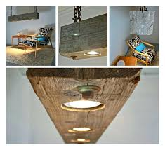 wood beam light recessed 5 kitchen island pendant rustic hanging