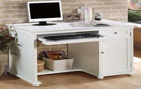 white home office desk. Home Office Hideaway. White Computer Desk Tables Hideaway Desks