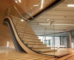 modern rustic stair railing