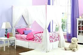 Princess Canopy Bed Full Size Twin With Slide Home Improvement ...