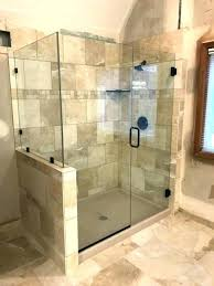 glass shower enclosure cost cost to install shower door astonishing glass shower doors cost glass shower