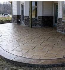 Innovation Textured Concrete Patio Designs Find This Pin And More On Deck To Design