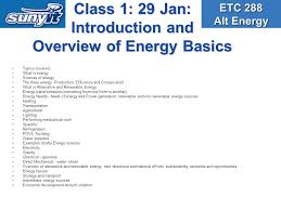 etc alternative energy class saturday am course  3 class