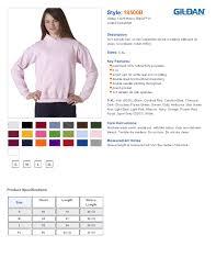 Gildan 18500b Youth Heavy Blend Sweatshirt