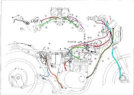 some wiring diagrams yamaha xs650 forum cable routing right side png