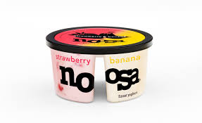 noosa side by side yogurt strawberry banana