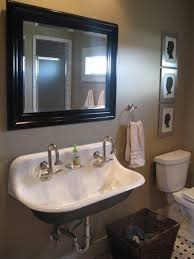 bathroom sink fresh wide bathroom sink two faucets on a budget simple with wide bathroom