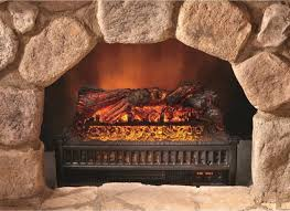 comfort glow electric log heater with flame projection fire place space heater