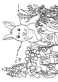 Spring Scene Coloring Pages Scenery Coloring Pages Spring Coloring ...