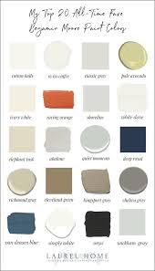 favorite benjamin moore paint colors