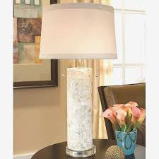 regina andrew table lamps best of regina andrew design mother of pearl column table lamp on