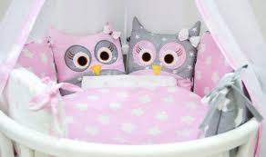 <b>Комплект в кроватку Incanto</b> Совята, 321840, розовый