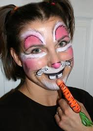 Small Picture 42 best Face paint easter images on Pinterest Face paintings